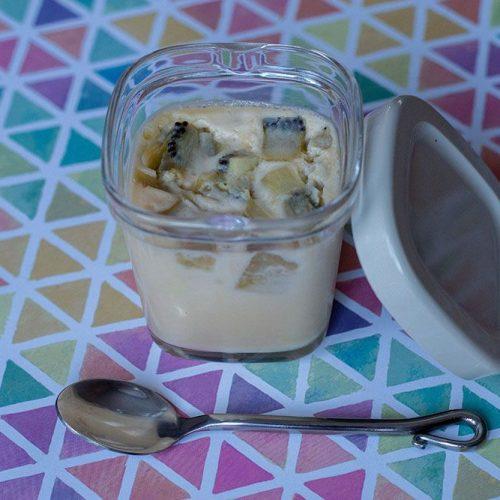 Clafoutis aux kiwis et au lait de coco (à la Multi Délices)