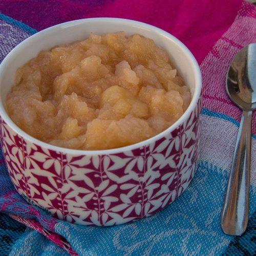 Compote Pommes, Poires et Coings à l'eau de rose