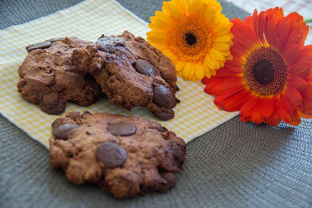 Cookies XXL aux noix de pécan