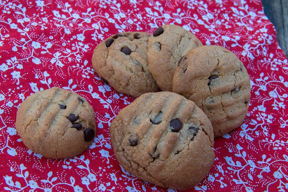 Cookies à la pâte de spéculoos et aux pépites de chocolat