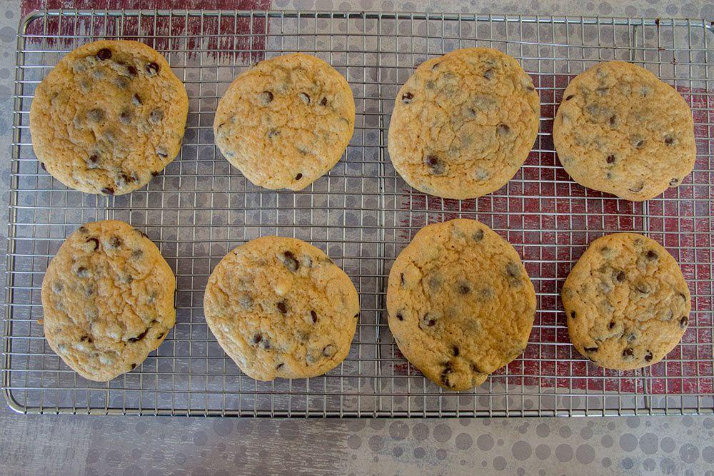 Cookies américains aux pépites de chocolat