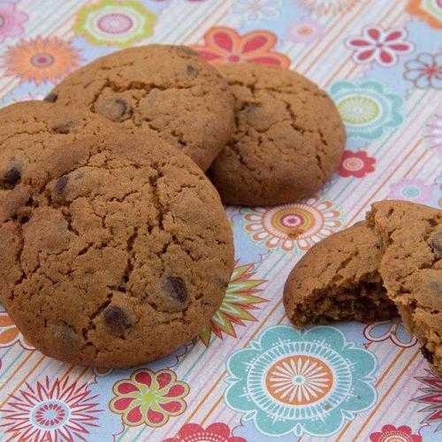 Cookies aux Speculoos et aux pépites de chocolat
