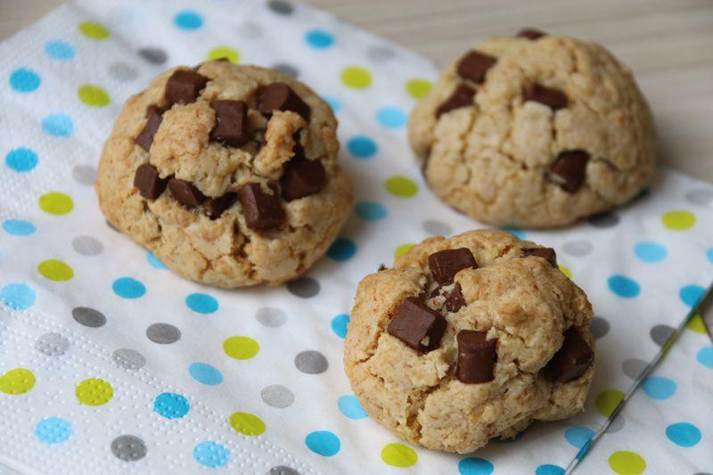Cookies aux flocons d'avoine et aux chunks