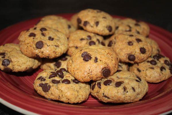 Cookies aux pépites de chocolat de Christhummm