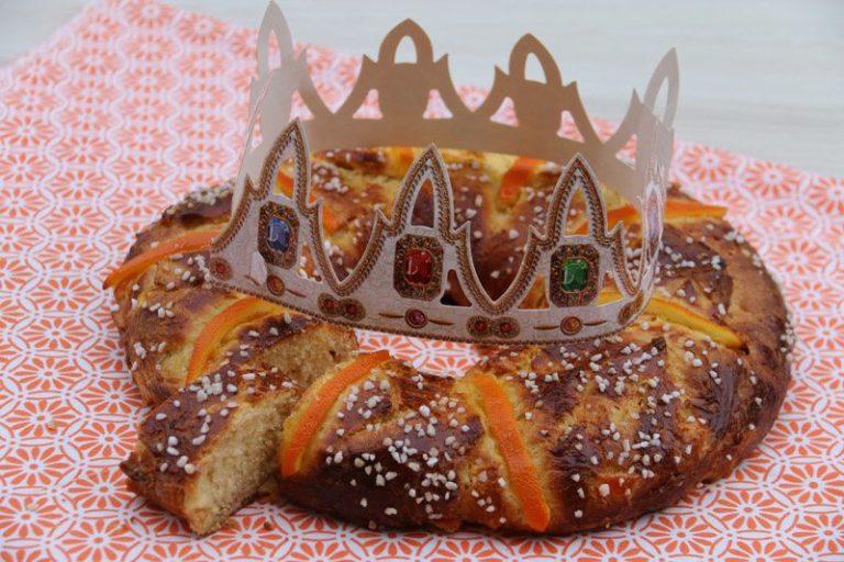 couronne des rois aux oranges confites