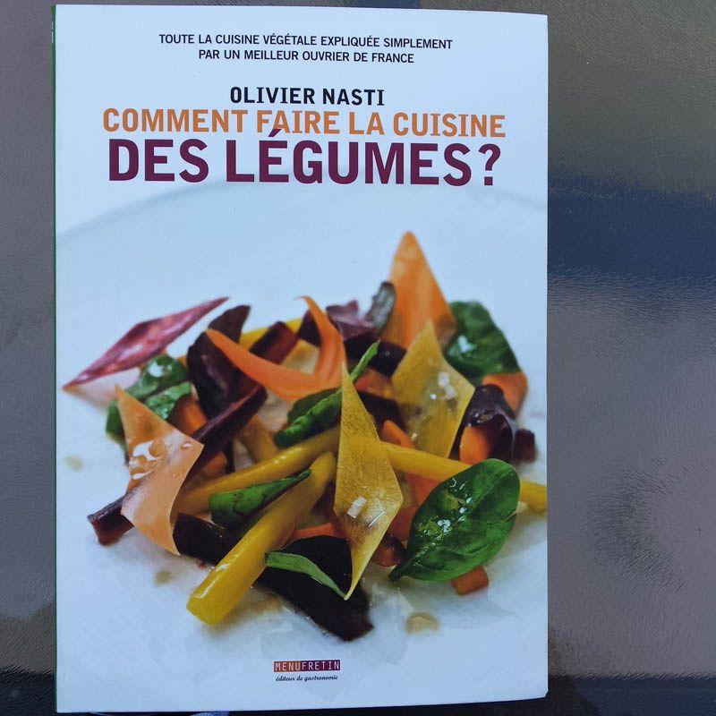 Cours de cuisine avec Olivier Nasti «Comment faire la cuisine des légumes»