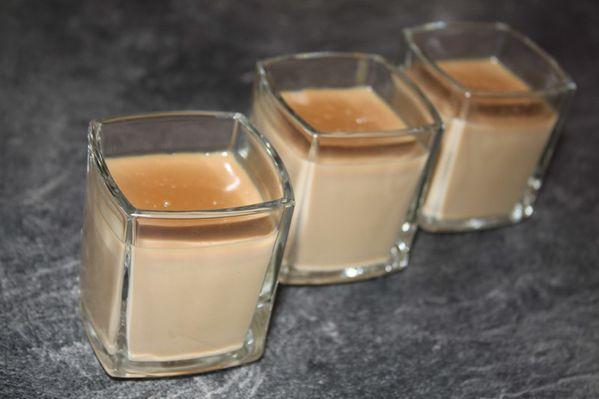 Crème dessert au café (Danette maison)