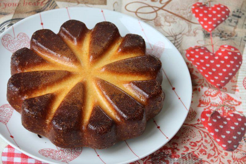 Crunchy Top Lemon Cake (Gâteau au citron de Trish Deseine)