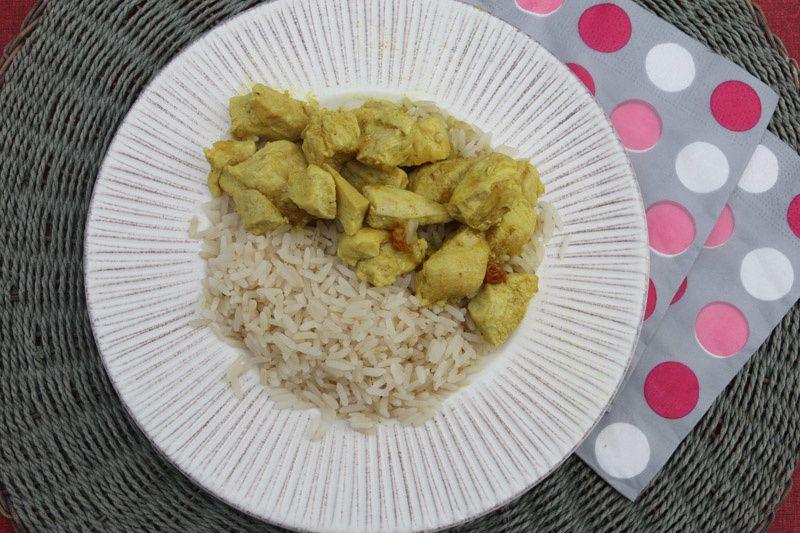 Curry de poulet (au Cookeo)