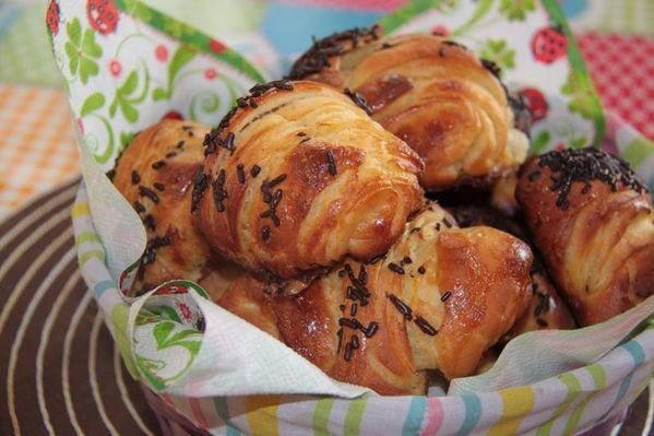 Des croissants trop faciles… et trop trop bons !!!