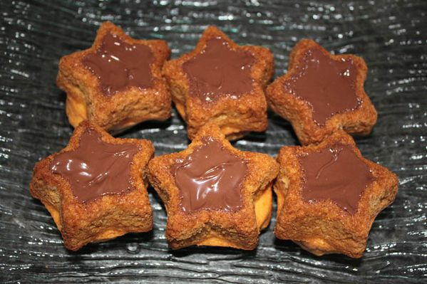 Etoiles au Nutella