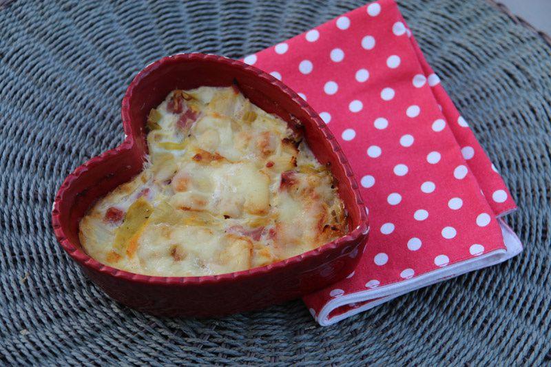 Flan de poireaux au fromage (recette WW Weight Watchers)