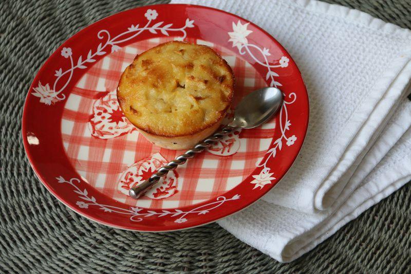 Flans aux pommes et au rhum (recette Tupperware)