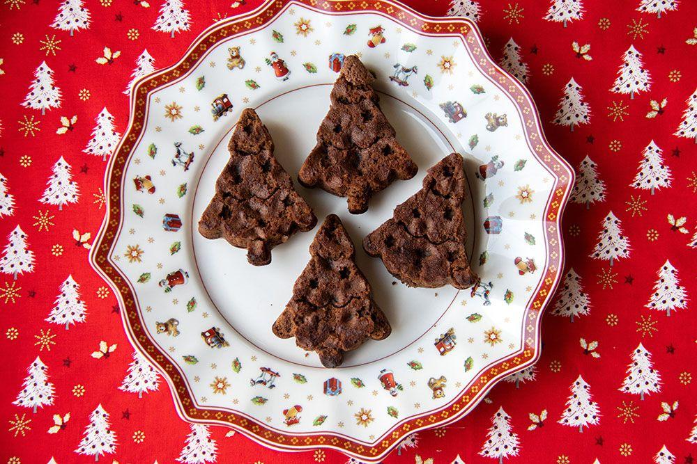 Fondants Sapins au chocolat de Thibault
