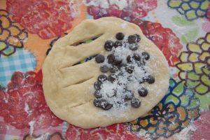 Fougassettes chocolat - noix de coco