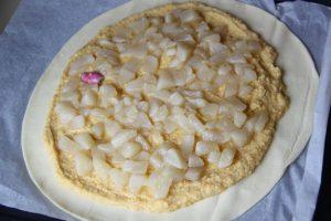 Galette aux poires et à la crème d'amandes