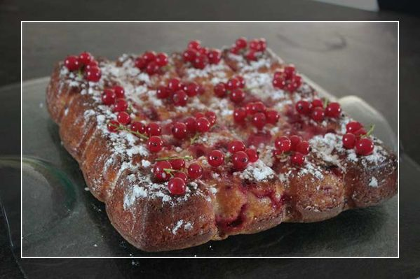 Gâteau Blanche Neige