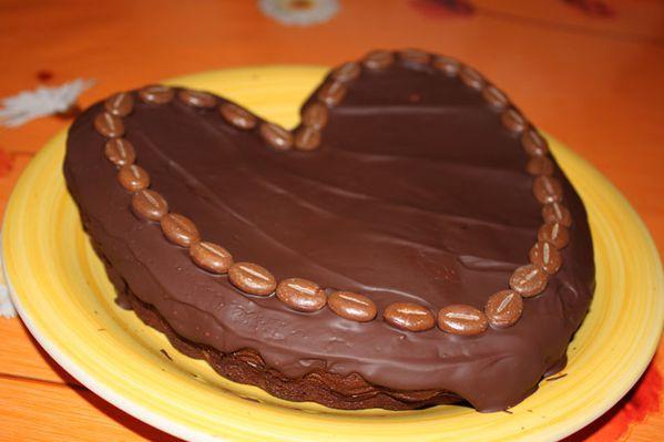 Gâteau Café Chocolat