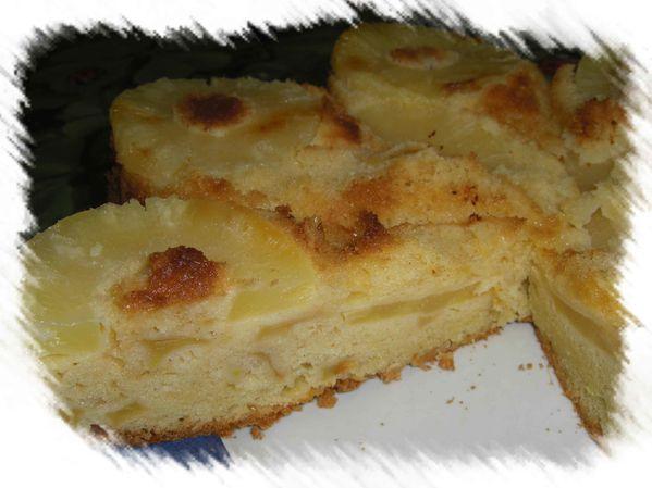 Gâteau Pommes / Ananas