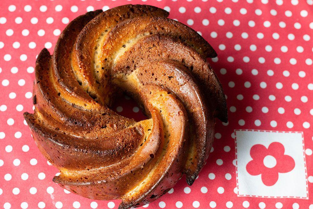 Gâteau au yaourt marbré au Nutela