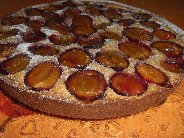 Gâteau aux quetsches