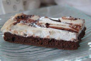 Gâteau chocolat meringué
