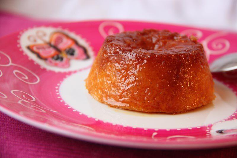 Gâteau de riz au caramel de Philippe Conticini