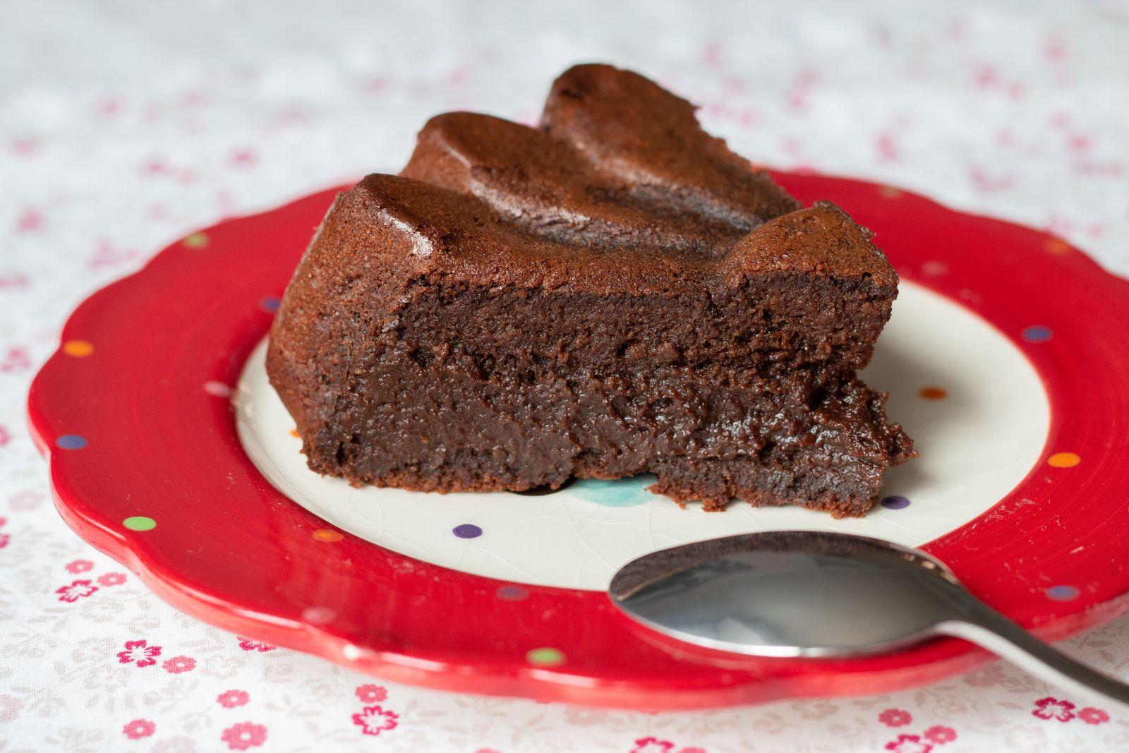 Gâteau pomme de terre chocolat (sans farine) (sans gluten)