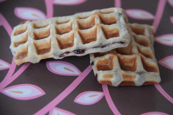 Gaufres feuilletées au Nutella (Goûter express)