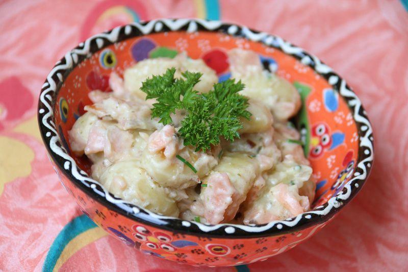 Gnocchis au saumon (au Cookeo)