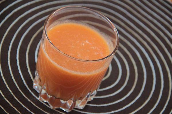 jus carotte orange et pommes