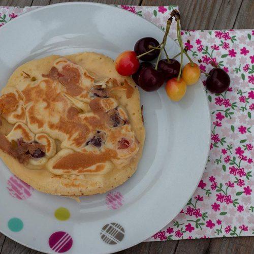 Kersche Kiechle (crêpes alsaciennes aux cerises)