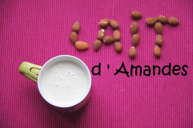 Lait d'amandes (au Vitamix)