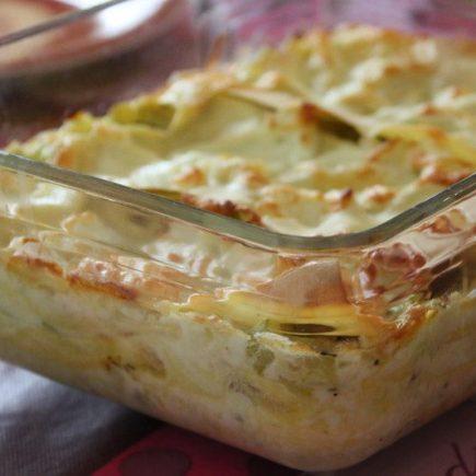 Lasagnes aux courgettes (au Thermomix ou sans)