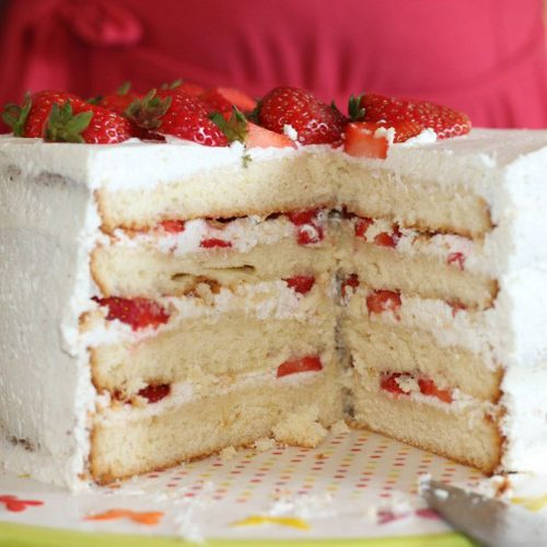 Layer Cake Fraises - Citron
