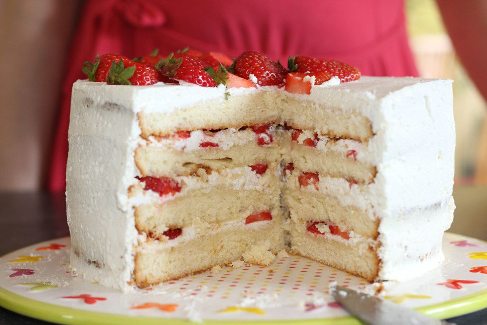 Layer Cake Fraises – Citron