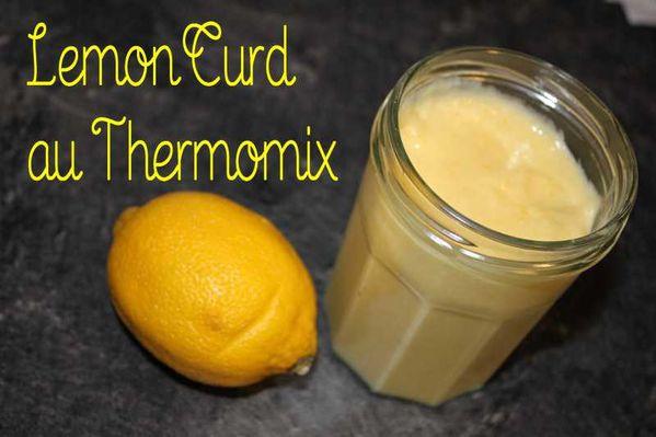 Lemon Curd au Thermomix