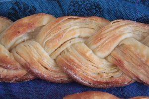 Les Craquelins de Manue (pâte feuilletée levée et sucrée)