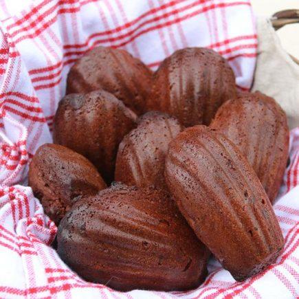 Madeleines au chocolat de Christophe Felder