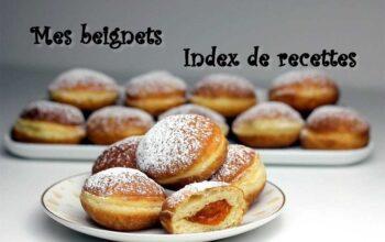 Mes Beignets (Index de recettes)