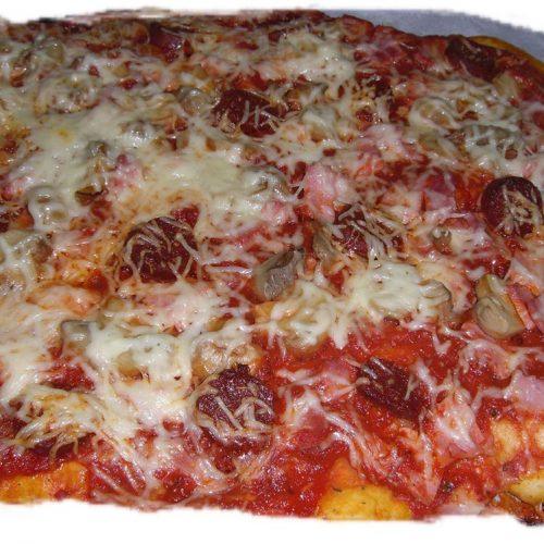 Mes pizzas maison