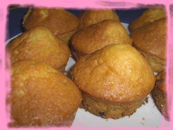 Mini Muffins orange-chocolat