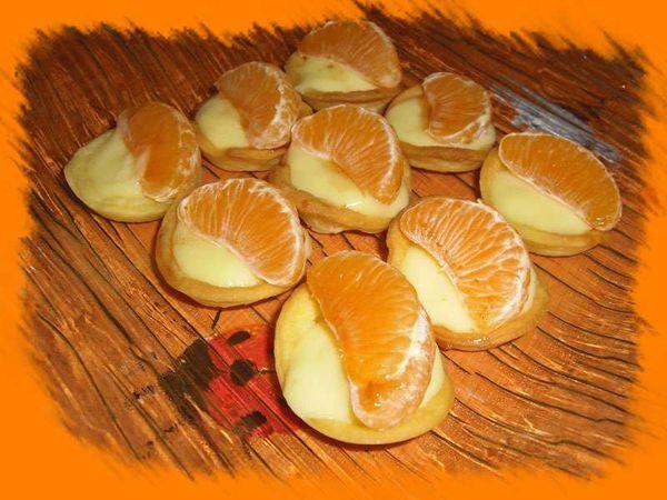 Mini Tartelettes aux clémentines