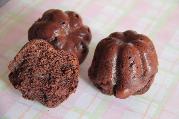 Moelleux au chocolat, miel et sarrasin (sans gluten et sans lactose)