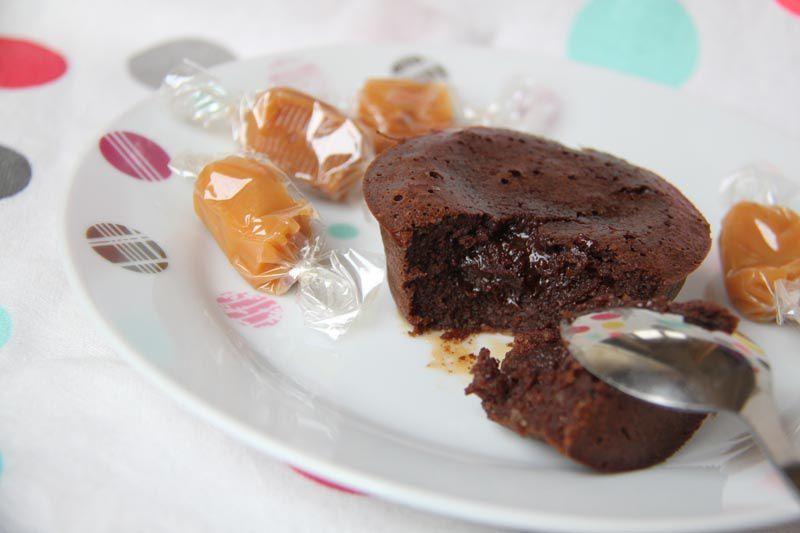 Moelleux bretons aux morceaux de caramel
