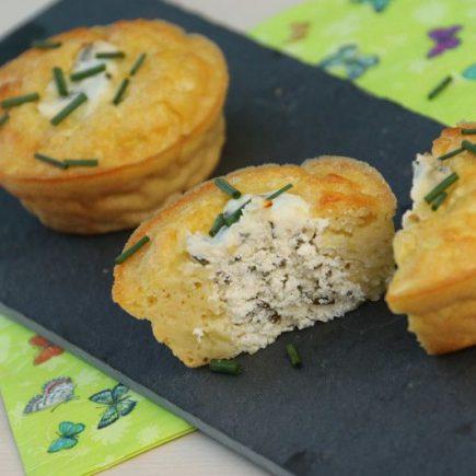 Moelleux de courgettes au coeur fromage (recette Tupperware)