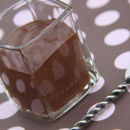 Mousse au chocolat magique (au Thermomix)