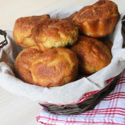 Muffins Vanille Rhubarbe (sans gluten)