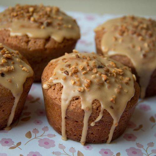 Muffins au café et au pralin