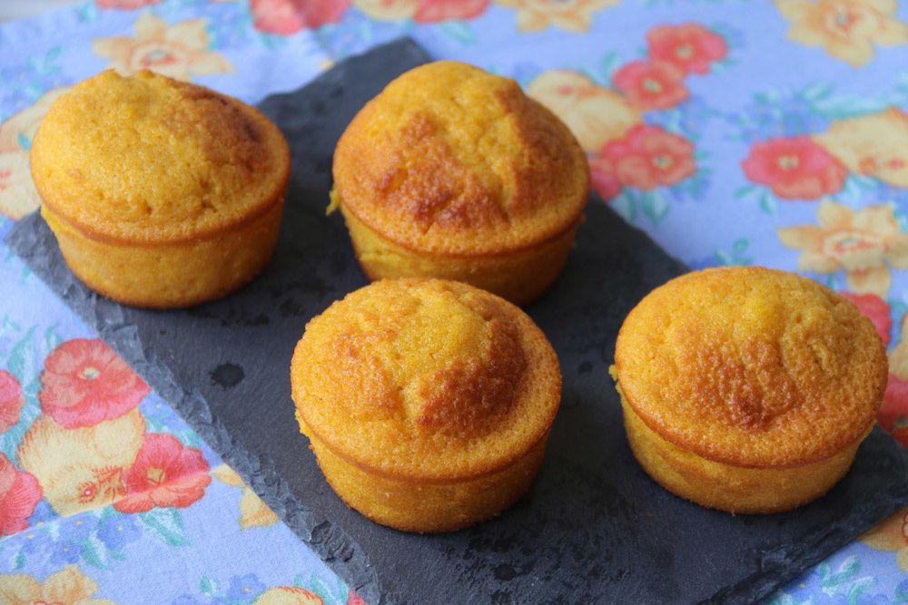 Muffins au jus de carottes (sans lactose)